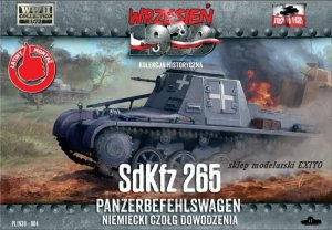 FIRST TO FIGHT 004 -  September 1939 - 1:72 Sd.Kfz.265 Panzerbefehlswagen