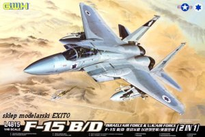 GREAT WALL HOBBY 4815 - 1:48 F-15 B/D Israeli Air Force & U.S.Air Force