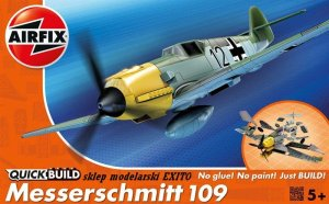 AIRFIX J6001 -  Messerschmitt 109 - Quick Build