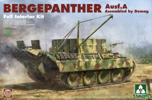 TAKOM 2101 - 1:35 Bergepanther Ausf. A Assembled by Demag - w/ full interior