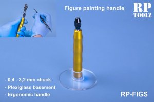 RP TOOLZ RPFIGS - Figures painting handle - Figure painting handle