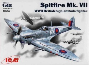 ICM 48062 - 1:48 Spitfire Mk.VII, WWII British Fighter