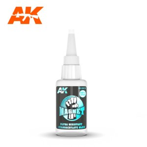AK INTERACTIVE 12015 - Magnet Ultra Resistant Cyanocrylate Glue 20 ml