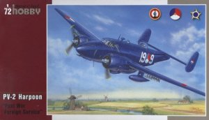 SPECIAL HOBBY 72213 - 1:72 PV-2 Harpoon ,Post War Foreign Service