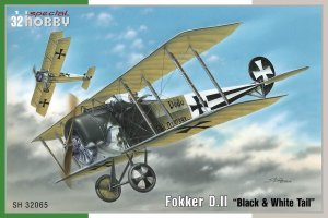 SPECIAL HOBBY 32065 - 1:32 Fokker D. II Black & White Tail