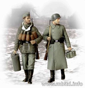 MASTER BOX 3553 - 1:35 Supplies at last! German soldiers 1941-1945