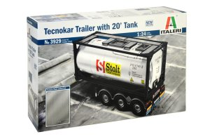 ITALERI 3929 - 1:24 Tecnokar Trailer with 20 Tank