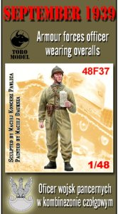 TORO MODEL 48F37 - 1:48 September 1939 - Armour forces officer wearing overalls