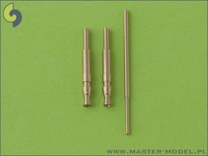 MASTER AM-48-010 - 1:48 Bf 109 F, G1 - G4 armament set (MG 17 tips) & Pitot Tube