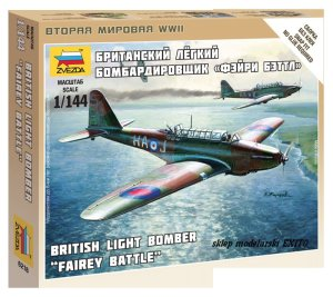 ZVEZDA 6218 - 1:144 Fairey Battle - British Light Bomber