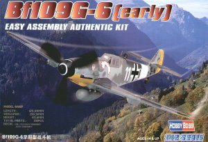 HOBBY BOSS 80225 - 1:72 Bf-109 G-6 (early)