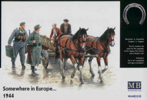 MASTER BOX 3538 - 1:35 Somewhere in Europe.. 1944