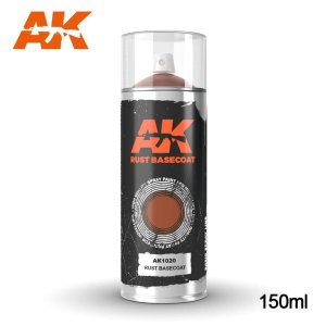 AK INTERACTIVE 1020 - Rust Basecoat Spray 150 ml