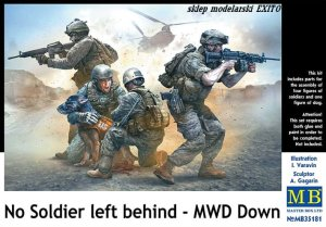 MASTER BOX 35181 - 1:35 No soldier left behind - MWD Down