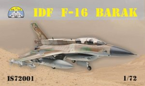 SKALE WINGS IS72001- 1:72 IDF F-16 Barak