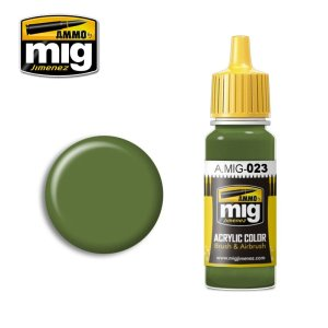 AMMO MIG 023 - Protective Green - acrylic paint 17ml