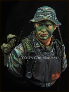 YOUNG MINIATURES YM1845 - 1:10 US Navy Seal Vietnam
