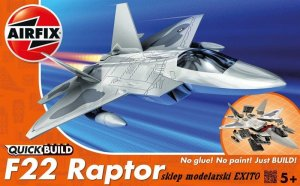 AIRFIX J6005 -  F22 Raptor - Quick Build