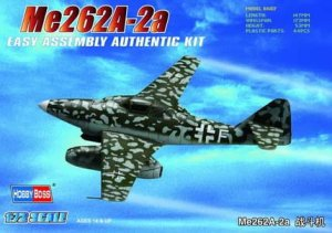 HOBBY BOSS 80248 - 1:72 Germany Me262A-1a Fighter