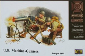 MASTER BOX 3519 - 1:35 U.S. Machine-gunners