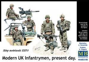 MASTER BOX 35180 - 1:35 Modern UK Infantrymen , present day