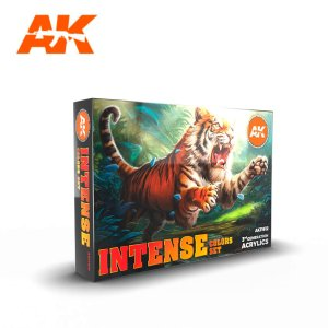 AK INTERACTIVE 11612 - Intense Colors - Set 6 x 17 ml
