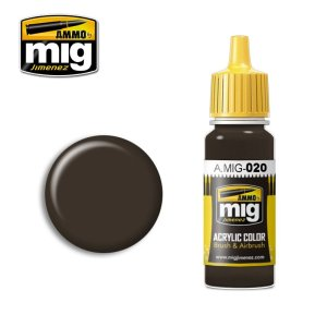 AMMO MIG 020 - 6K Russian Brown - acrylic paint 17ml