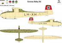 FLY 48023 - 1:48 Grunau Baby Iib Germany