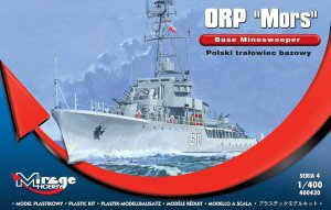 MIRAGE 400430 - 1:400 ORP Mors - Polish base minesweeper