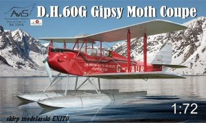 AVIS BX72018 - 1:72 DH.60G Gipsy Moth Coupe