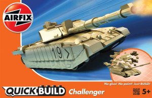 AIRFIX J6010 - Challenger Tank - Quick Build
