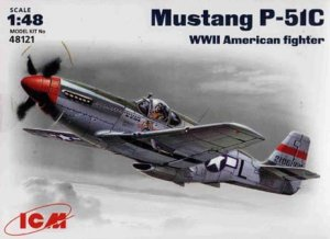 ICM 48121 - 1:48 Mustang P-51 C WWII US Air Forces fighter