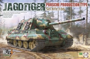 TAKOM 8003 - 1:35 Jagdtiger Sd.Kfz.186 Porsche Production type