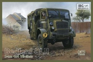 IBG 72002 - 1:72 Bedford QLR 3 ton 4x4 Wireless