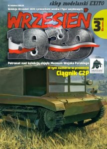 FIRST TO FIGHT 003 -  September 1939 - 1:72 C2P Polish Artillery Tractor