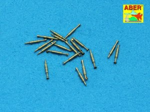 ABER 1:400L-06  - 1:400 Set of 20 pcs QF 2-pdr (40mm) Mark VIII Pom-Pom