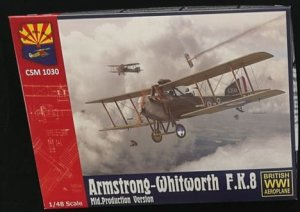 COPPER STATE MODELS CSM 1030 - 1:48 Armstrong-Whitworth F.K.8 Mid. Production