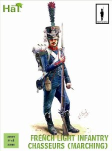 HAT 28004 - 28 mm - French Light Infantry Chasseurs Marching