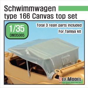 DEF MODEL DM35065 - 1:35 Schwimmwagen Type 166 Canvas Top