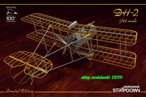EDUARD 1185 - 1:48 DH-2 Stripdown