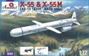 AMODEL 72127 - 1:72 X-55 and X-55M (NATO code AS-15 Kent)