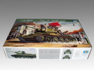 TRUMPETER 00903 - 1:16 T-34/76 mod. 1943