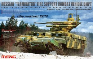 MENG MODEL TS010 - 1:35 Russian Terminator Fire Support Combat Vehicle BMPT