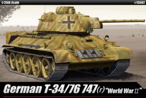 ACADEMY 13502 - 1:35 German T-34/76 747 (r )