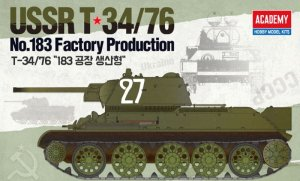ACADEMY 13505 - 1:35 T-34/76 No. 183 Factory Production