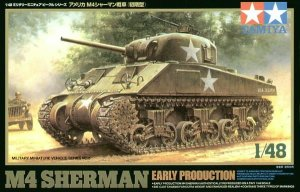 TAMIYA 32505 - 1:48 U.S. M4 Sherman Early Production