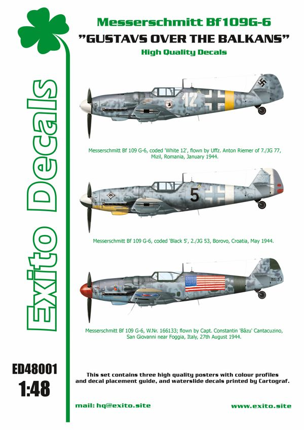 Exito Decals Bf-109G