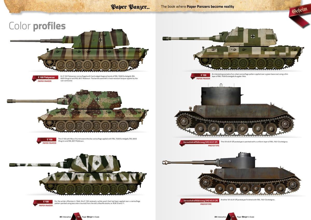 AK INTERACTIVE 246 - Paper Panzer, Prototypes & What if Tanks