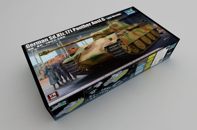 Trumpeter 1//16th Scale PANTHER G LATE Parts Tree J from Kit No 00929