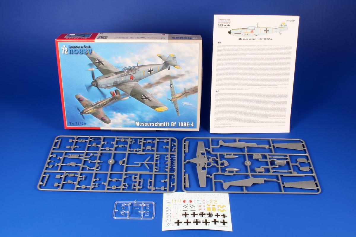 SPECIAL HOBBY 72439 - 1:72 Messerschmitt Bf 109E-4